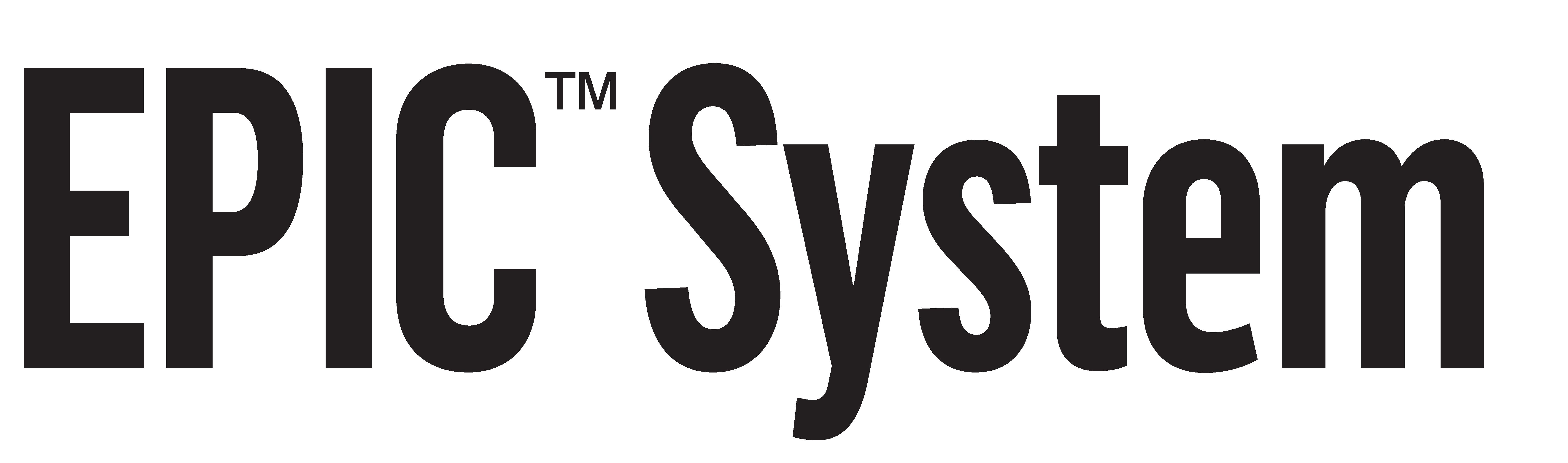 EPIC System Logo_Black