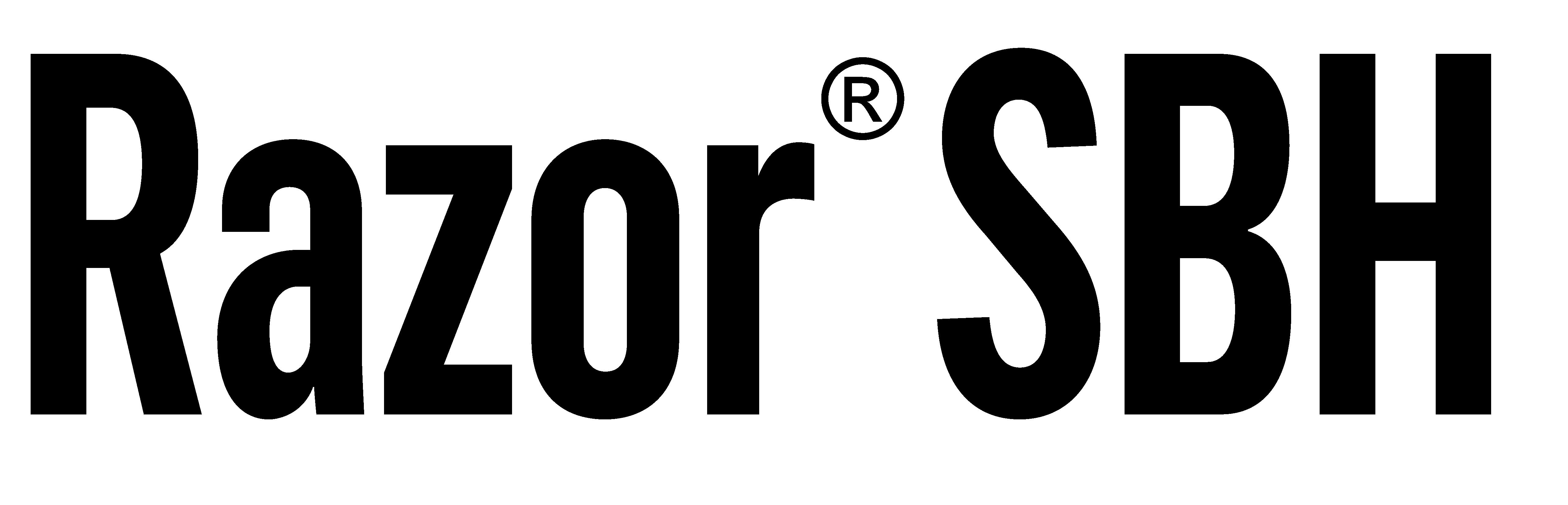 Razor SBH Logo 2020_Black