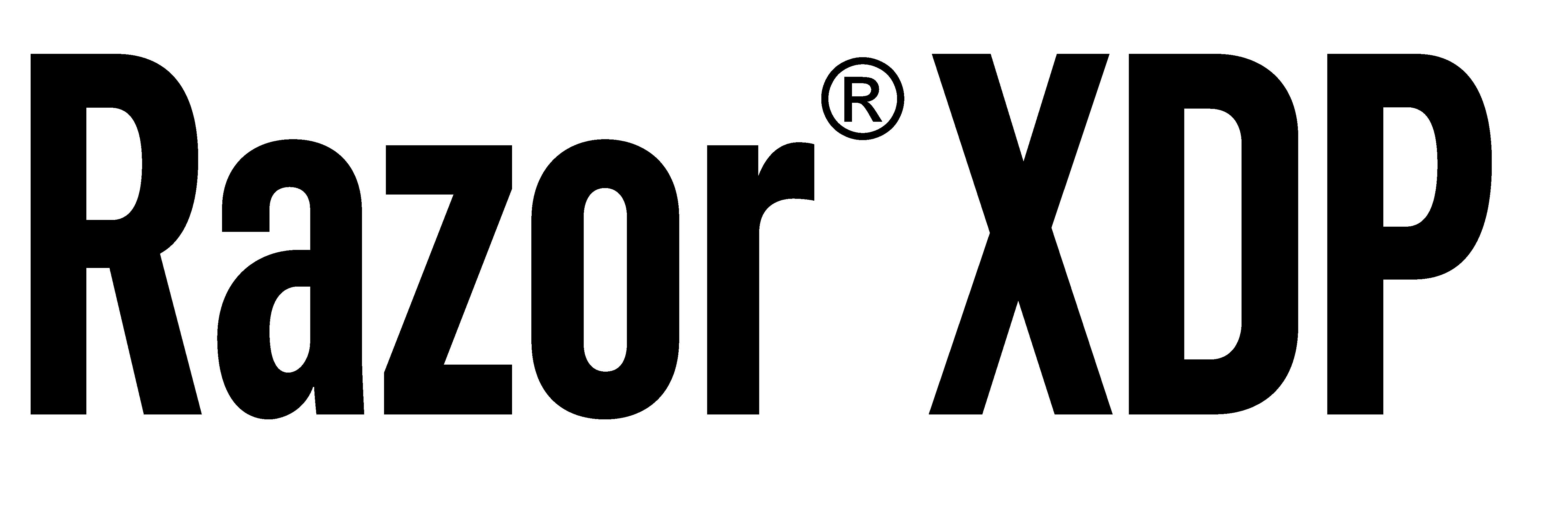 Razor XDP Logo 2020_Black